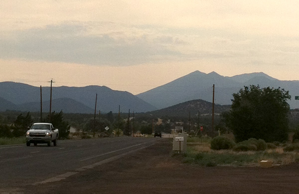 Outside Flagstaff, Arizona