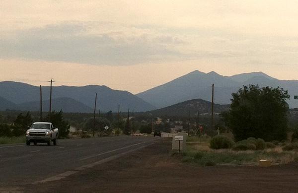 Outside Flagstaff, Arizona