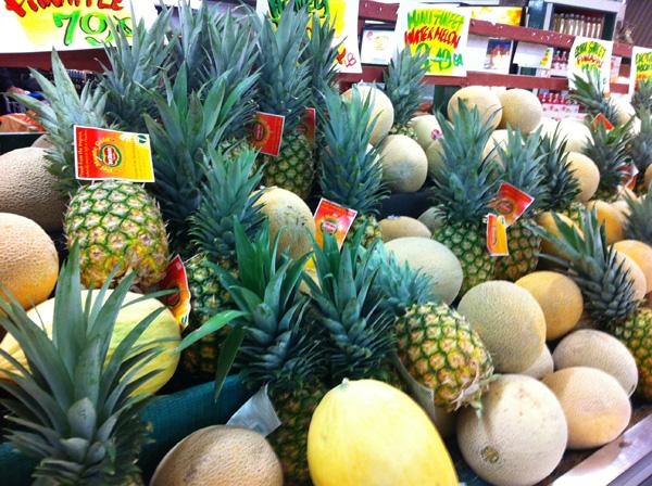 Pineapple-melon