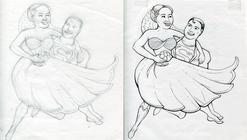 Superman-Wedding_people-sketch_w800