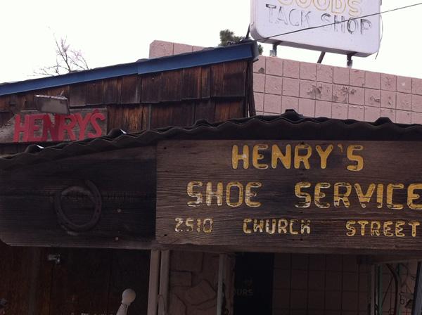 Henry's Shoe Service
