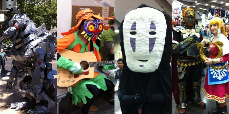 No Face, Ocarina of Time, Sacrmaento Comic Con