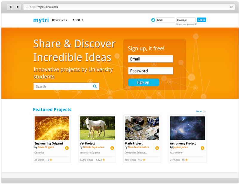 MyTri web design