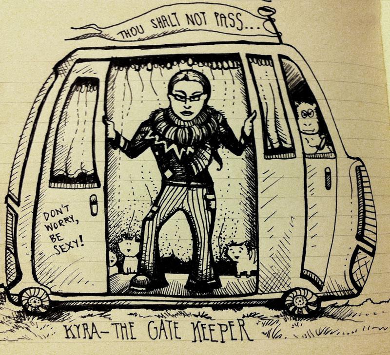 Kyra the Gate Keeper