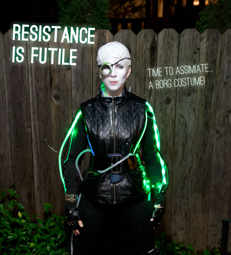 borg costume closing
